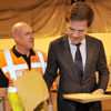 Dutch PM at TNT Wigan